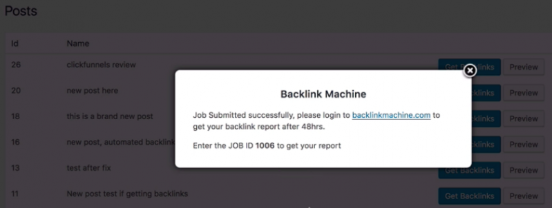 Backlink Machine 3.0