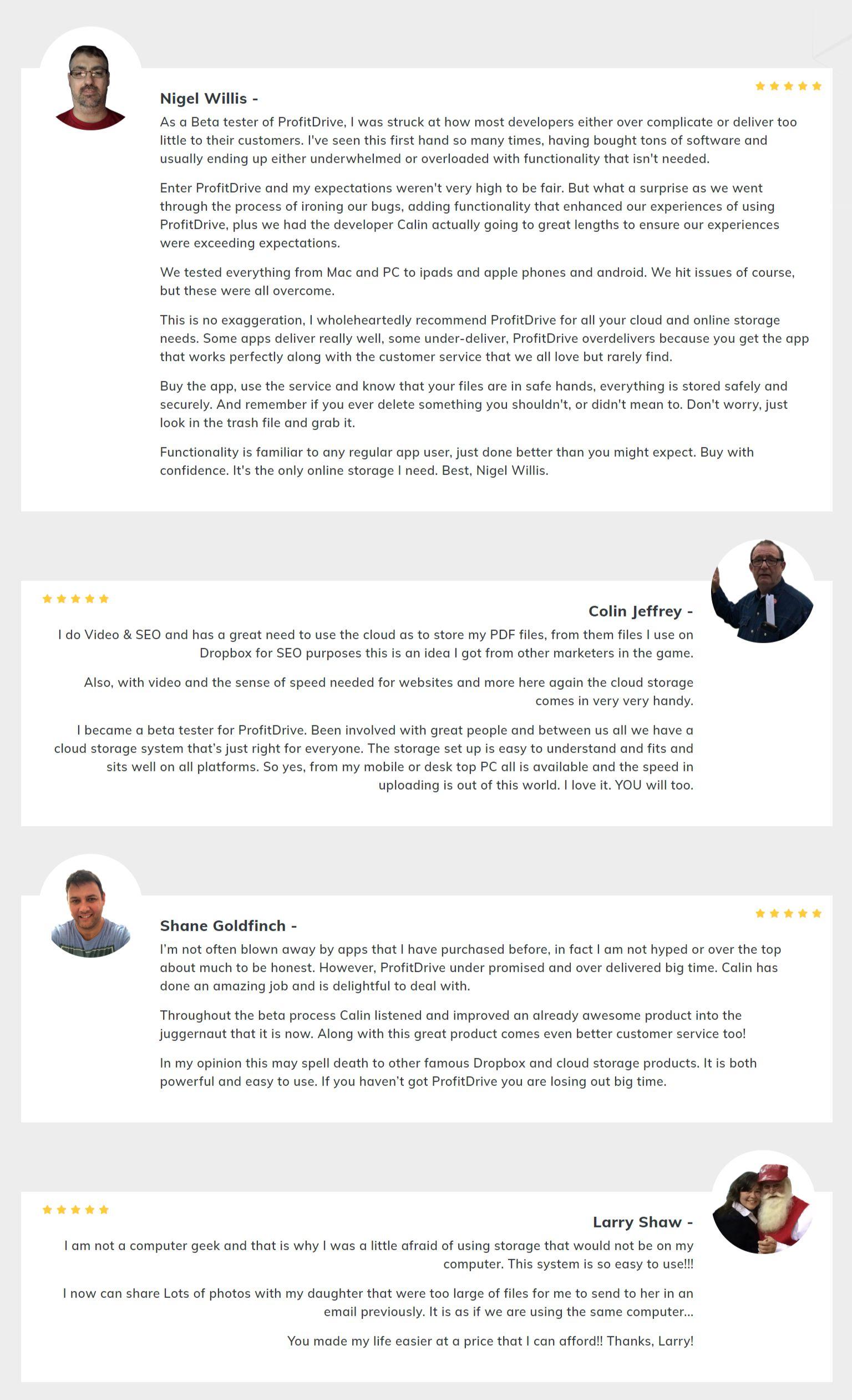ProfitDrive-feedback