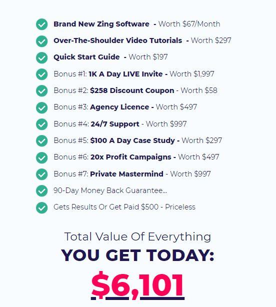 ZING-price