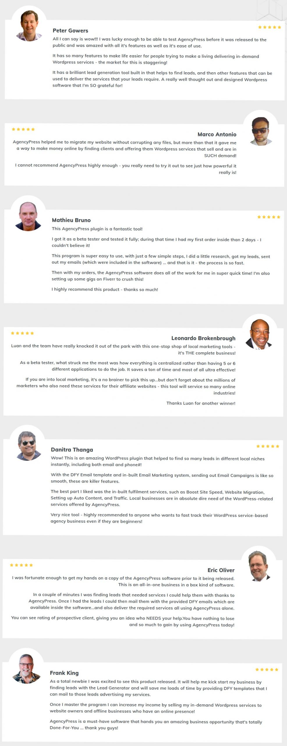 AgencyPress-feedback