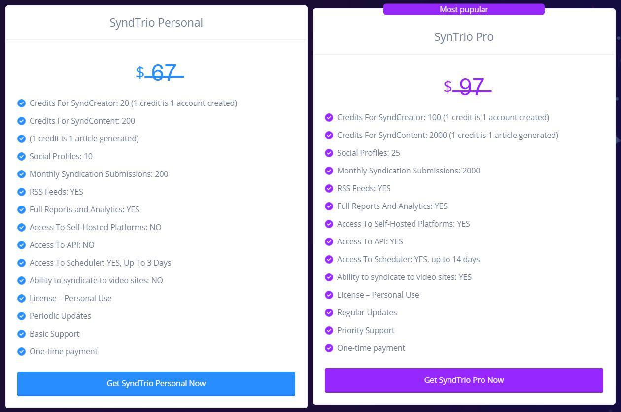 SyndTrio-Price