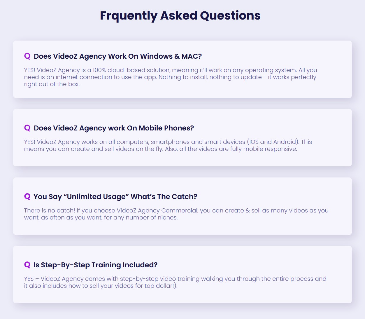 VideoZ-Agency-faq
