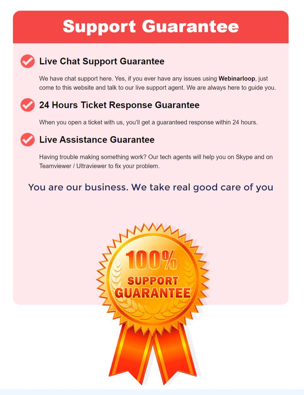 Webinarloop-Support