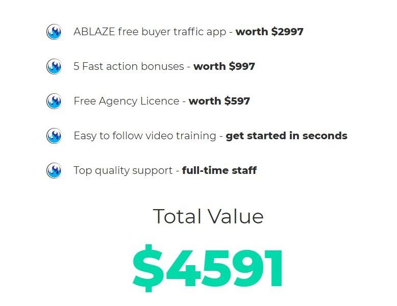 Ablaze-price