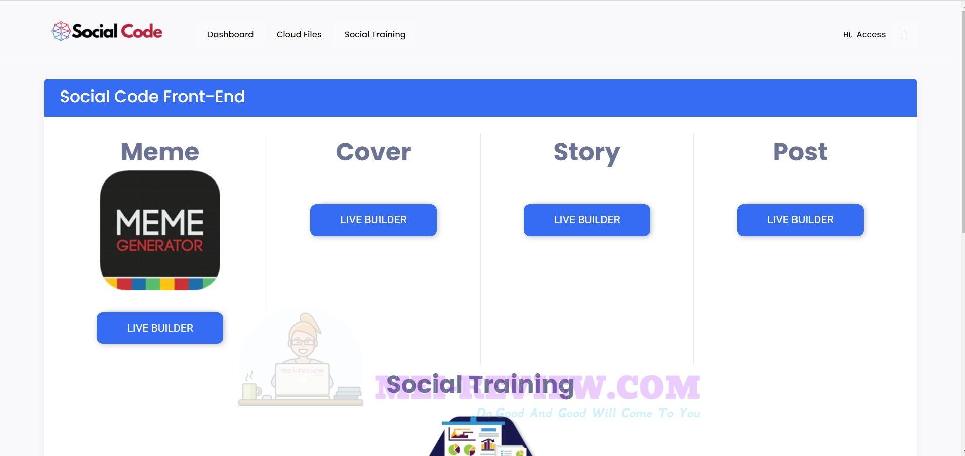SocialCode-software