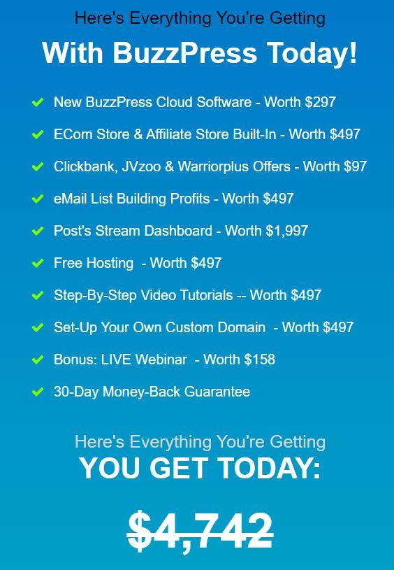 BuzzPress-Price