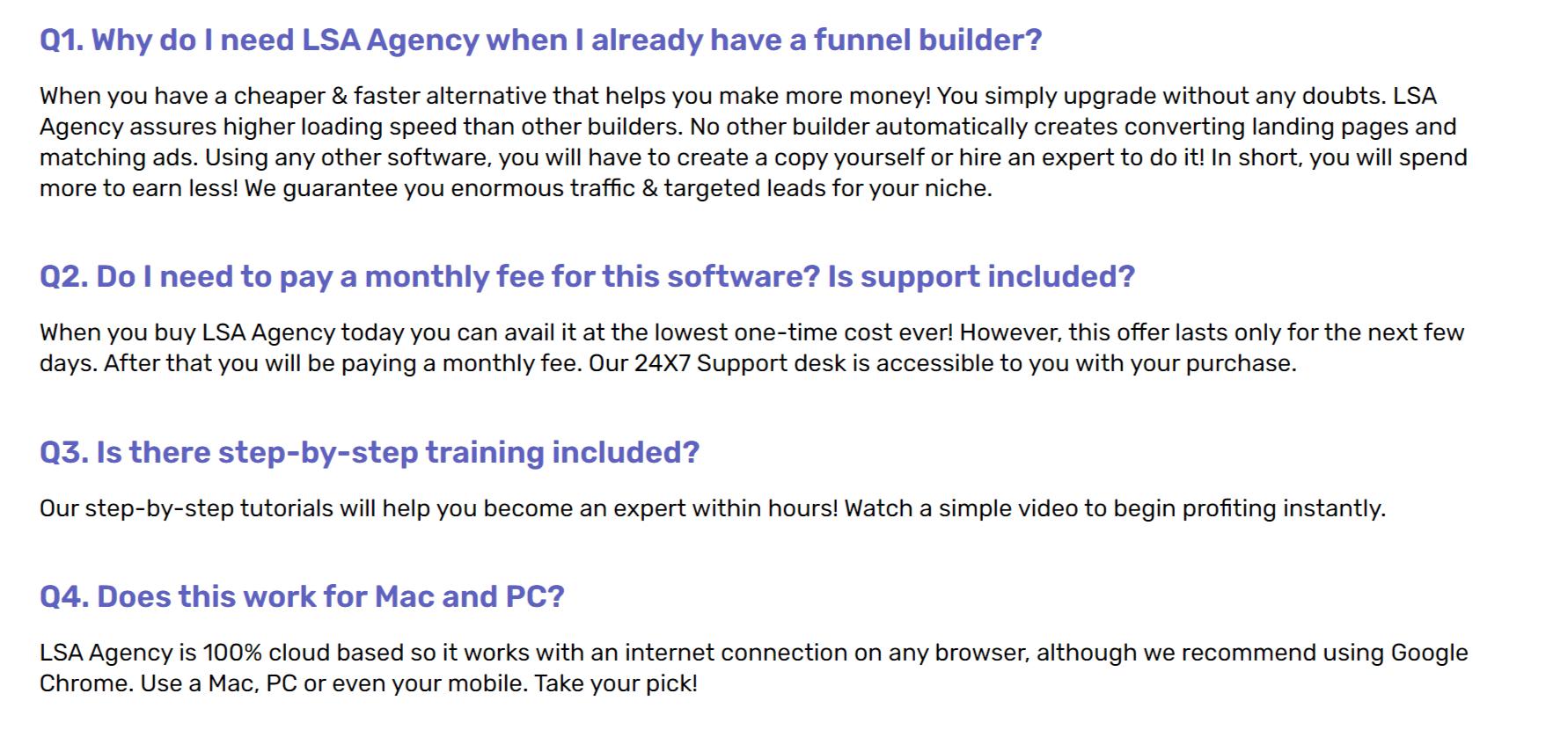 LSA-Agency-FAQ