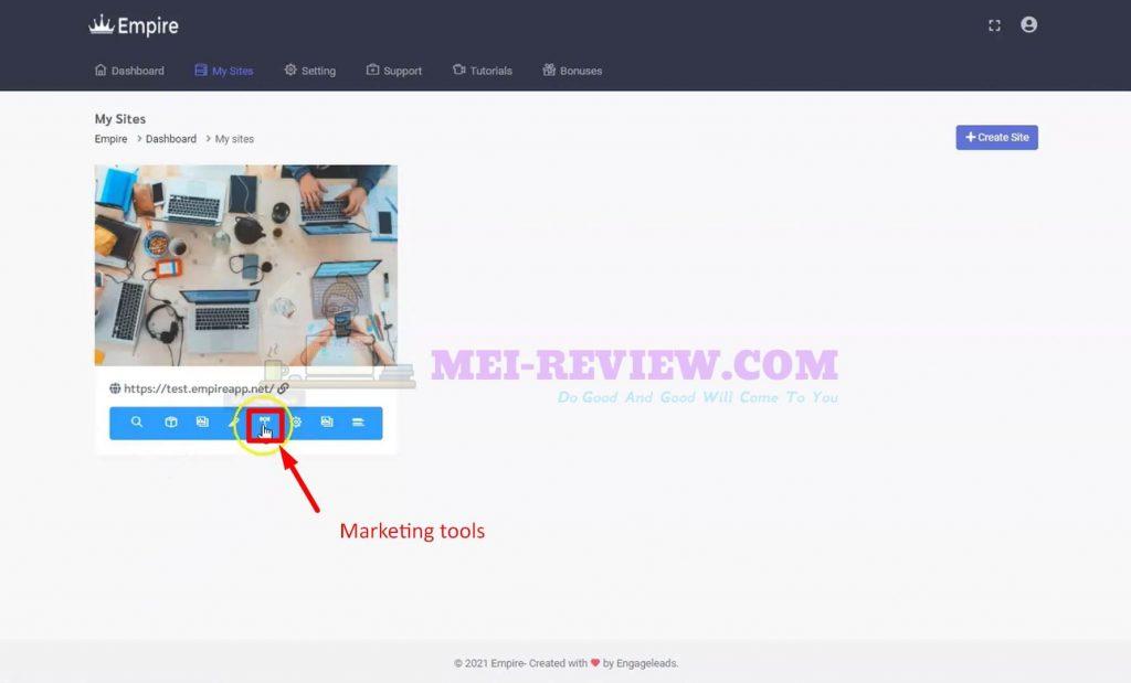 Empire-software-demo-11-marketing-tools