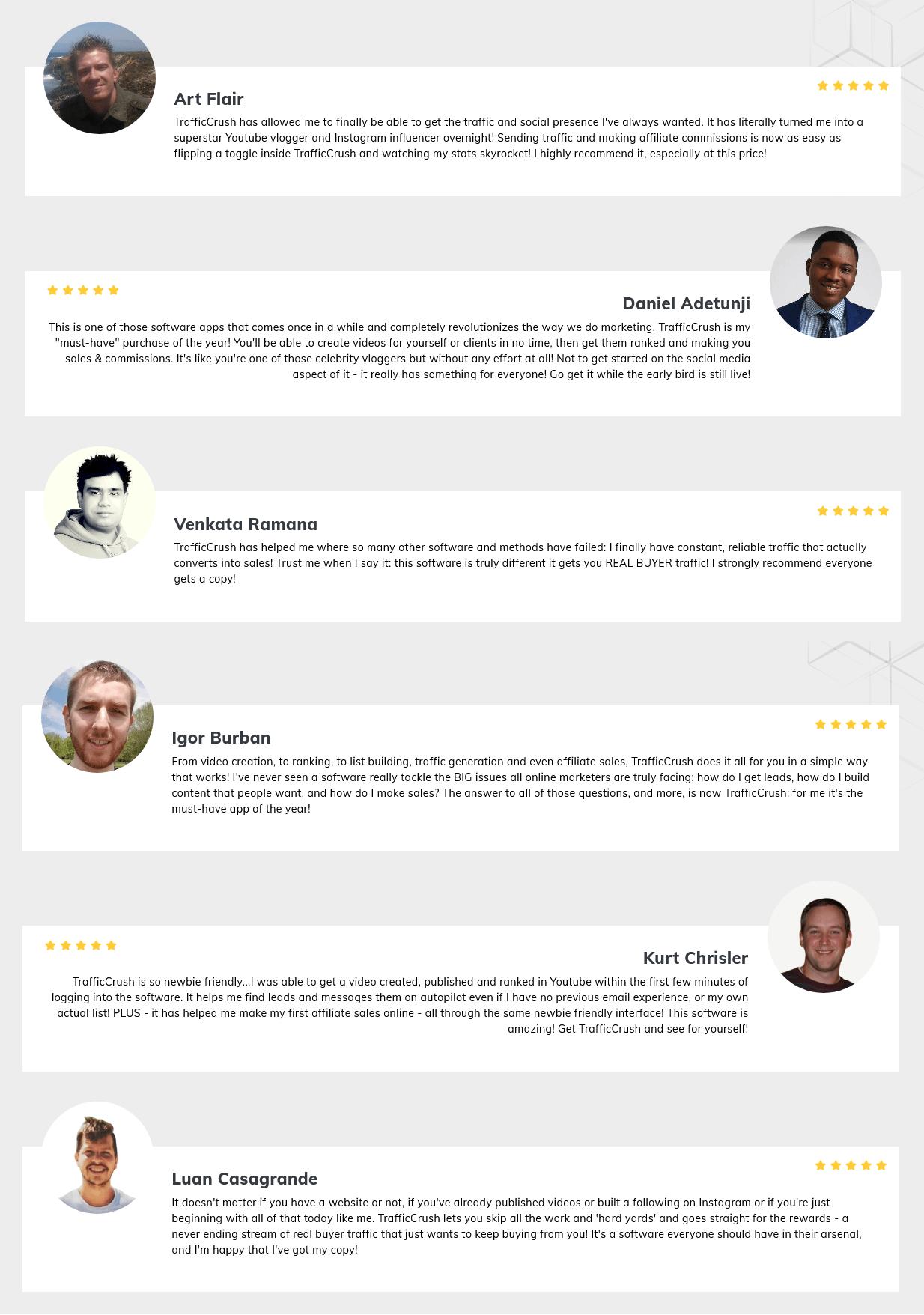 TrafficCrush-feedback