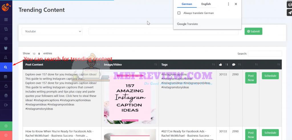 MultiSociFit-demo-9-trending-content