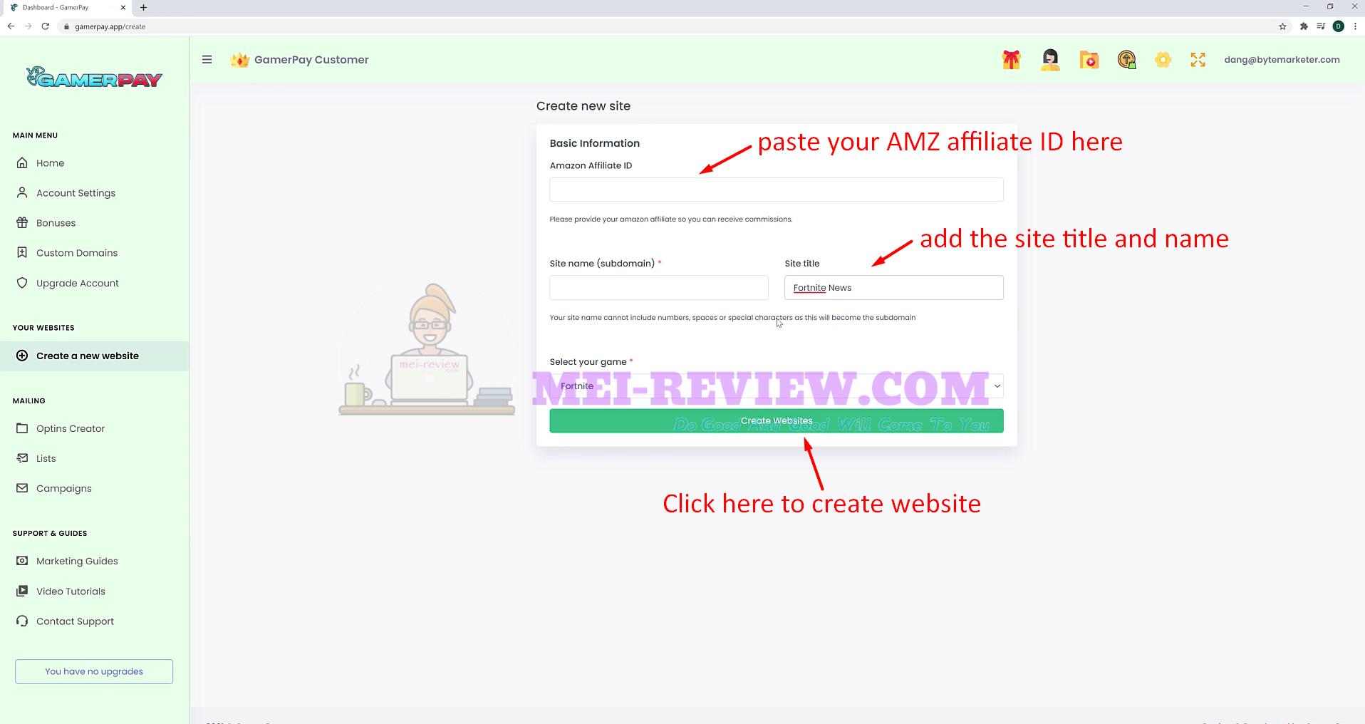 Gamerpay-Demo-4-ready-website