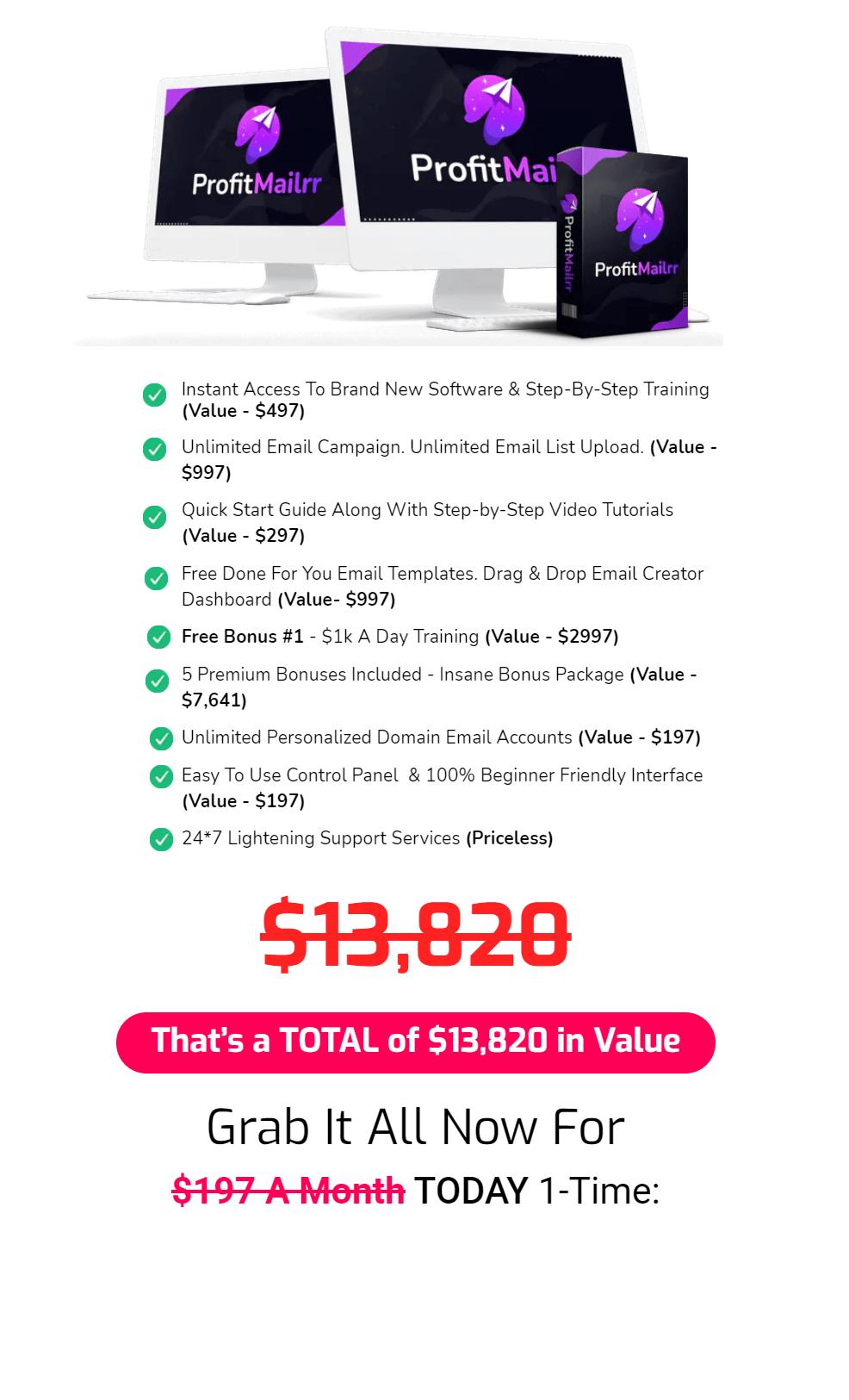 ProfitMailrr-Price