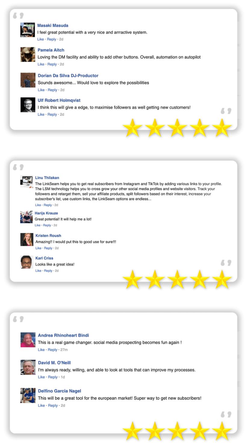 LinkSeam-feedback