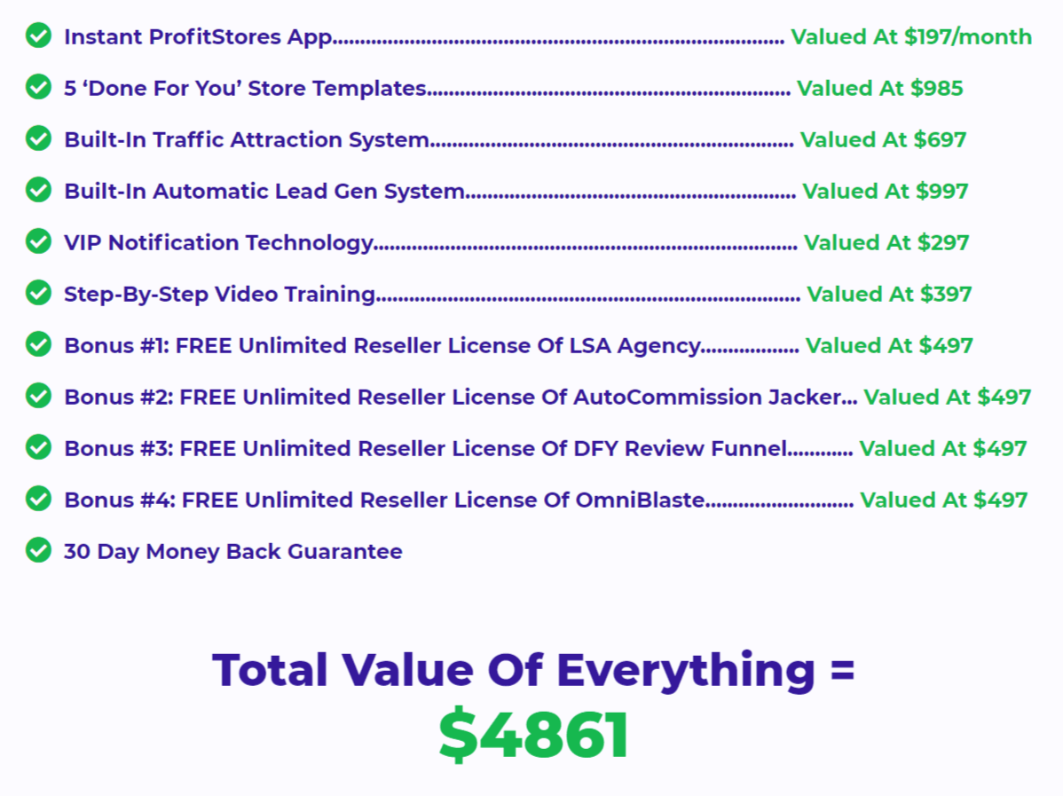 Instant-Profitstores-Features-Recap