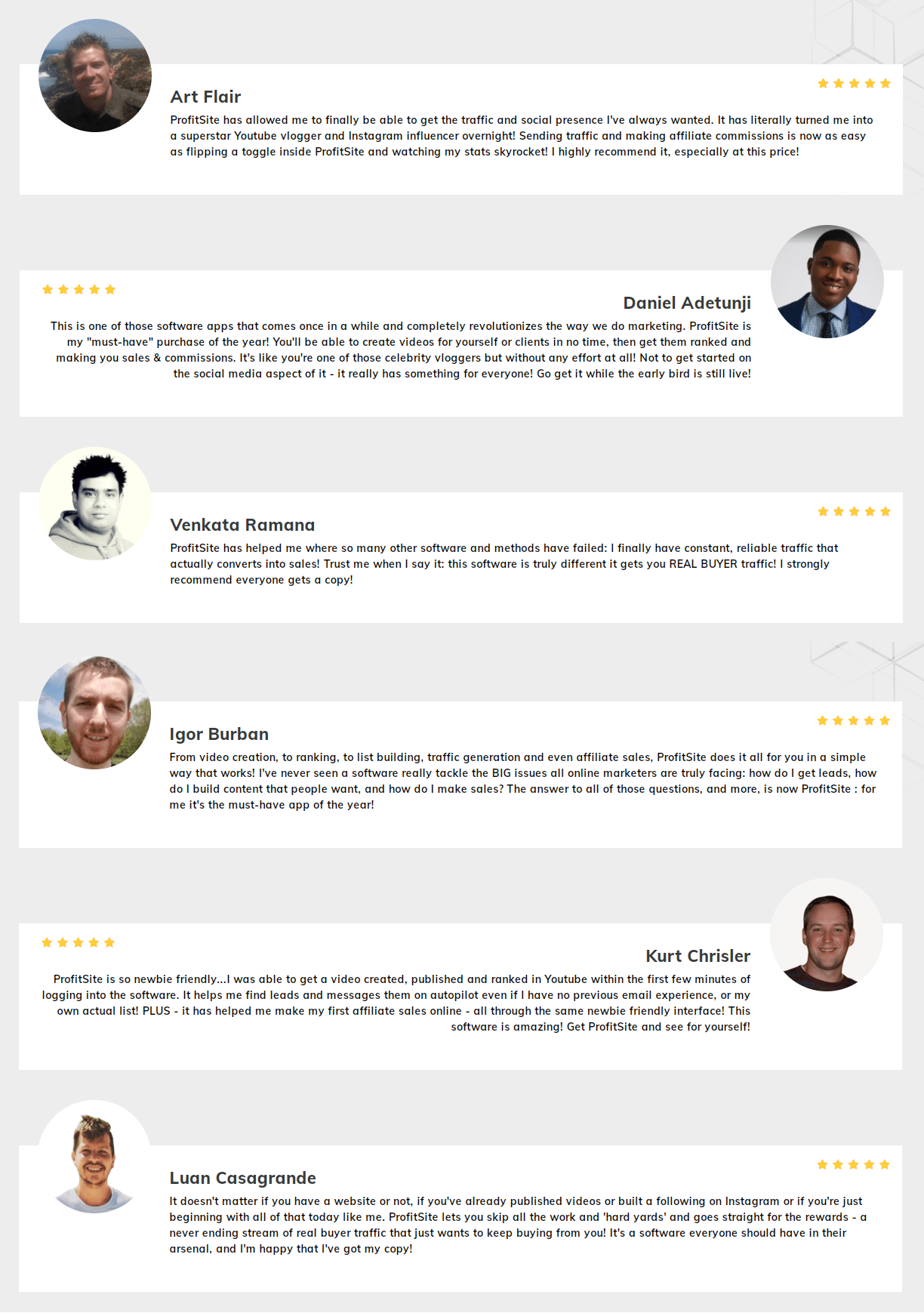 ProfitSite-feedback
