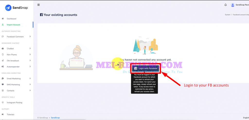SendSnap-Demo-2-connect-account