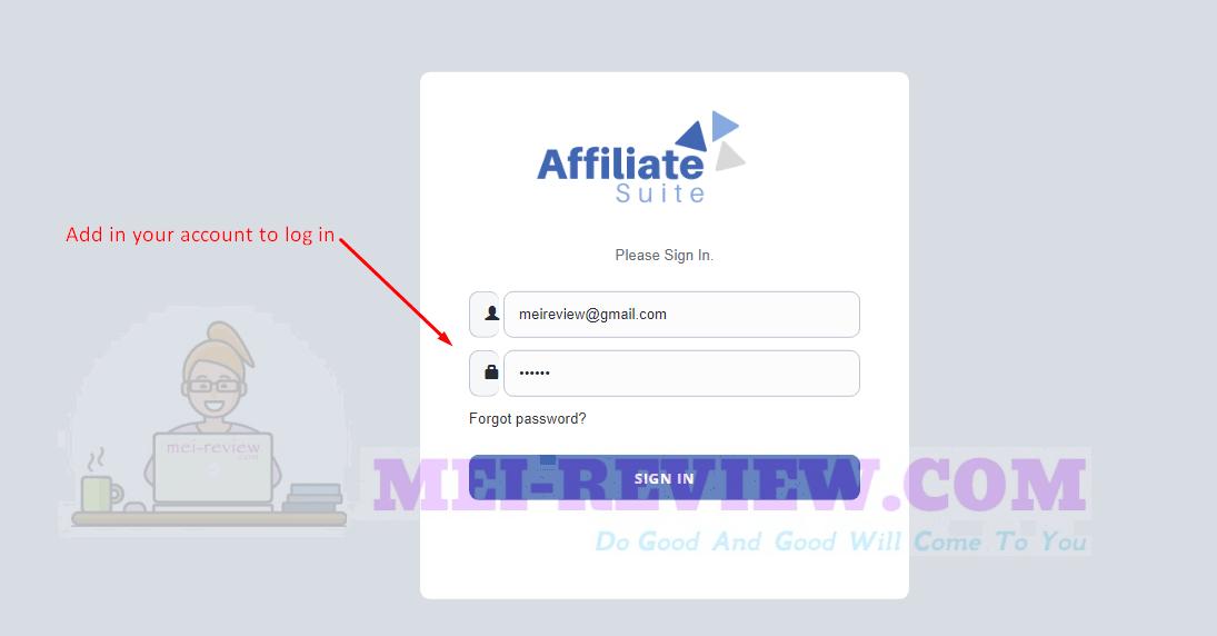 AffiliateSuite-demo-1-login