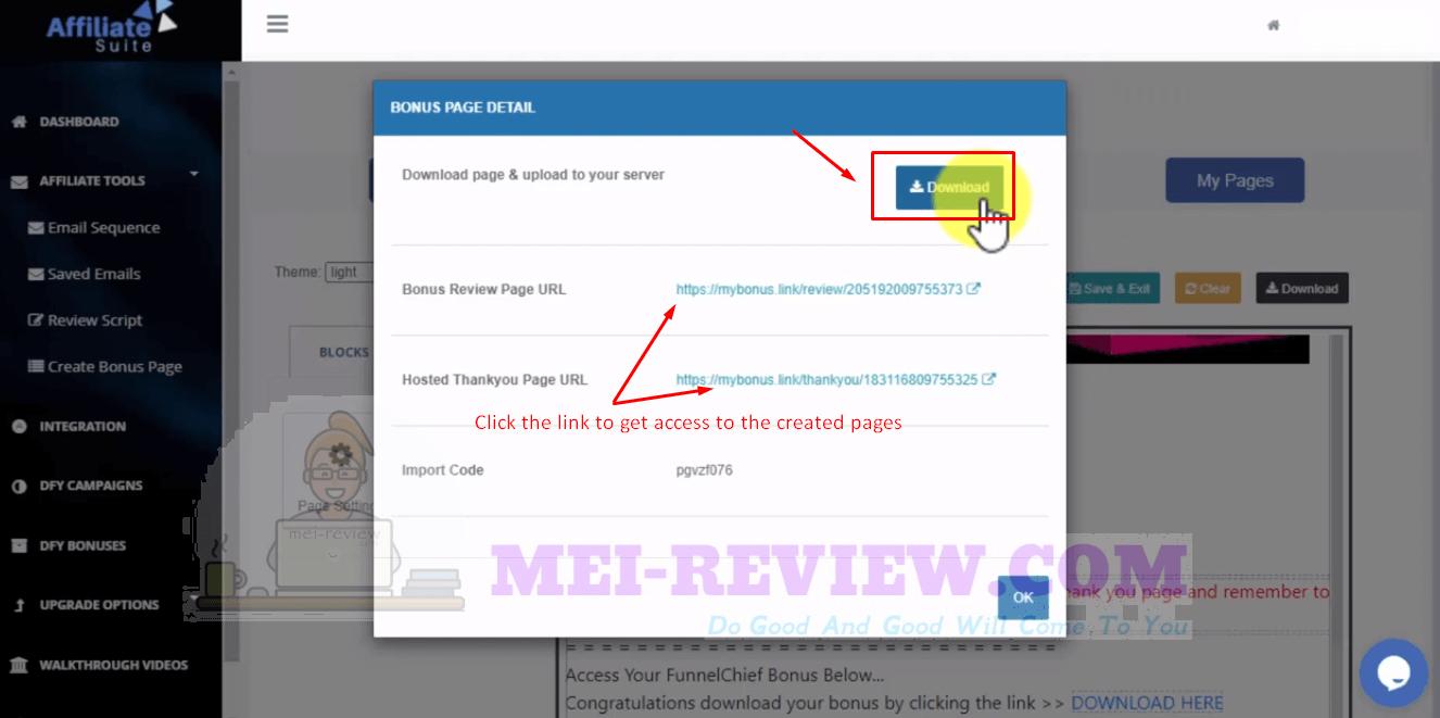 AffiliateSuite-demo-16-bonus-page-details
