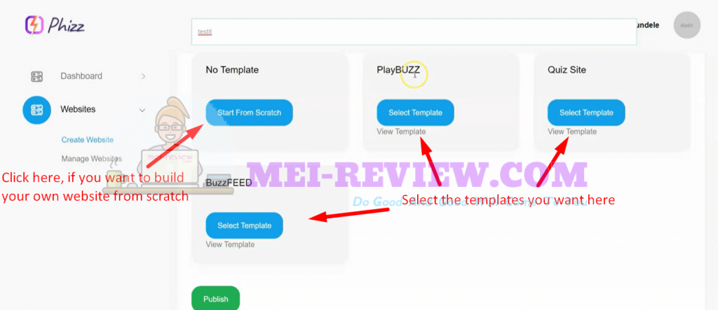 Phizz-demo-3-choose-template