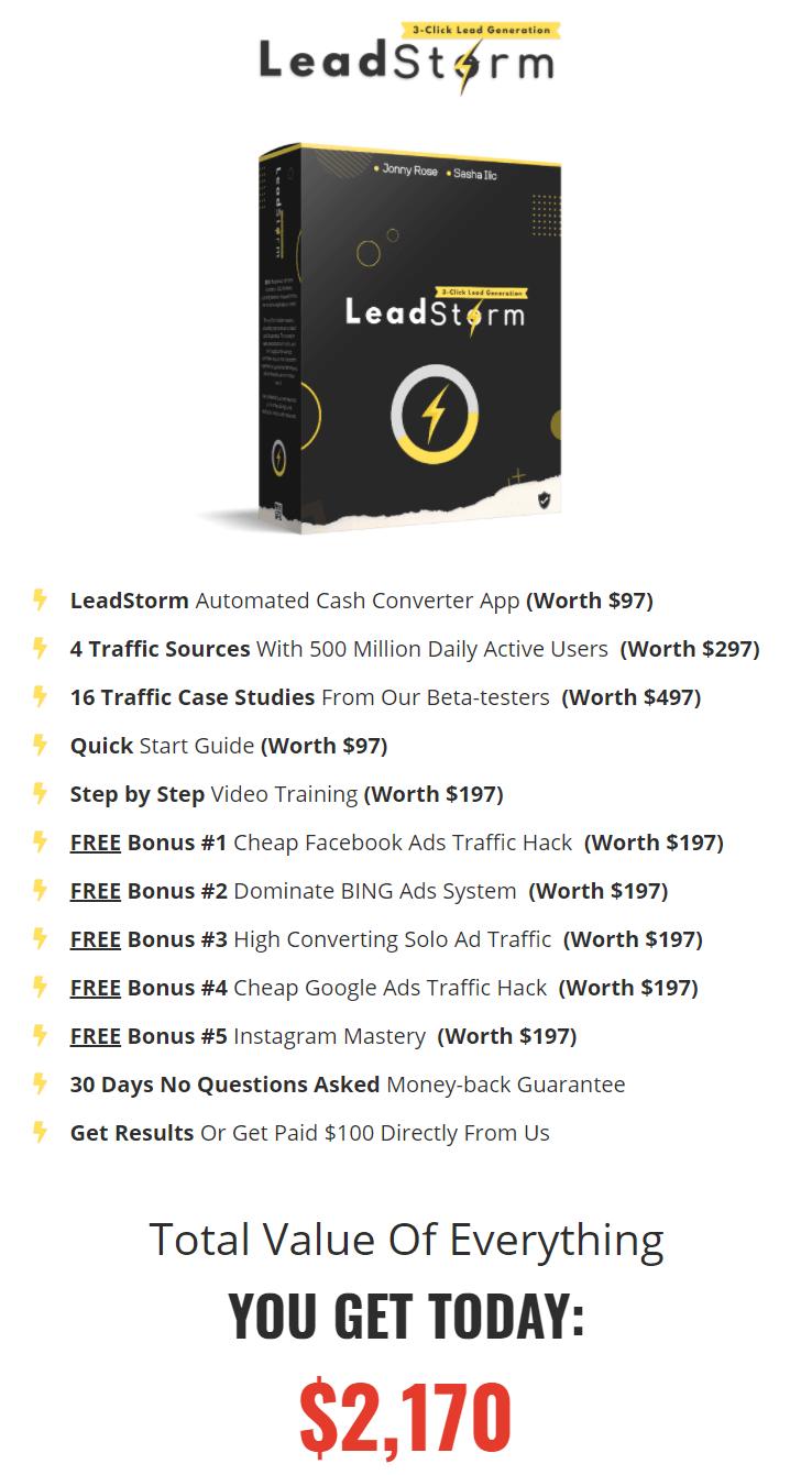 LeadStorm-price