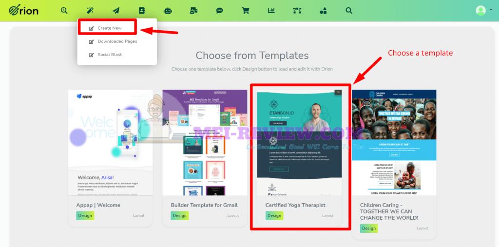 Orion-traffic-app-demo-3-create-campaigns