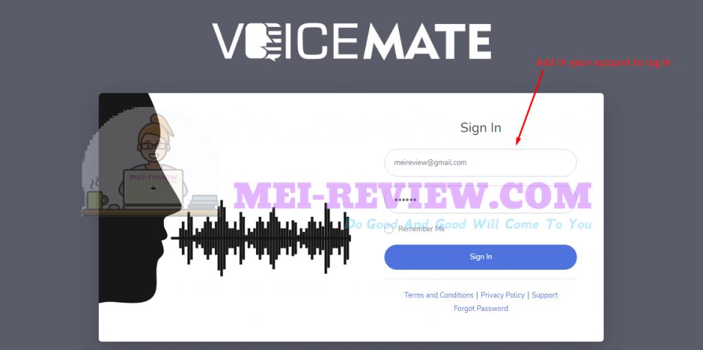 login-VoiceMate