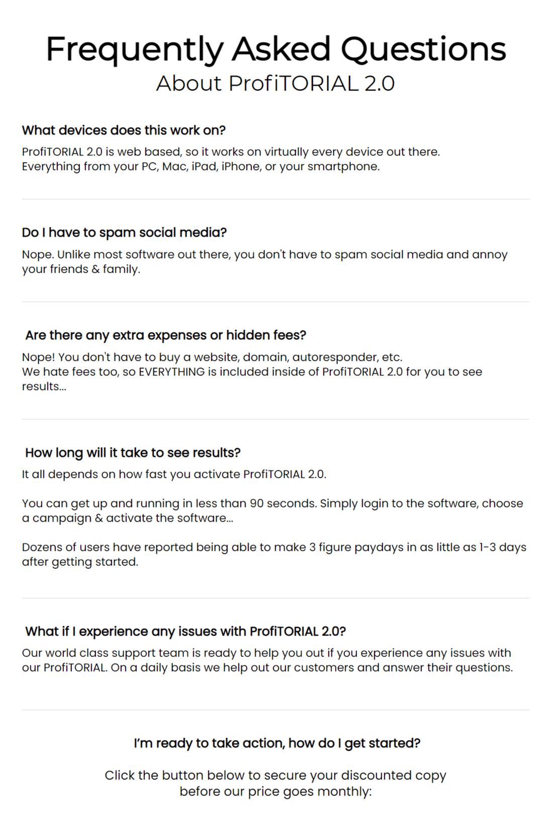 Profitorial-2-0-FAQ