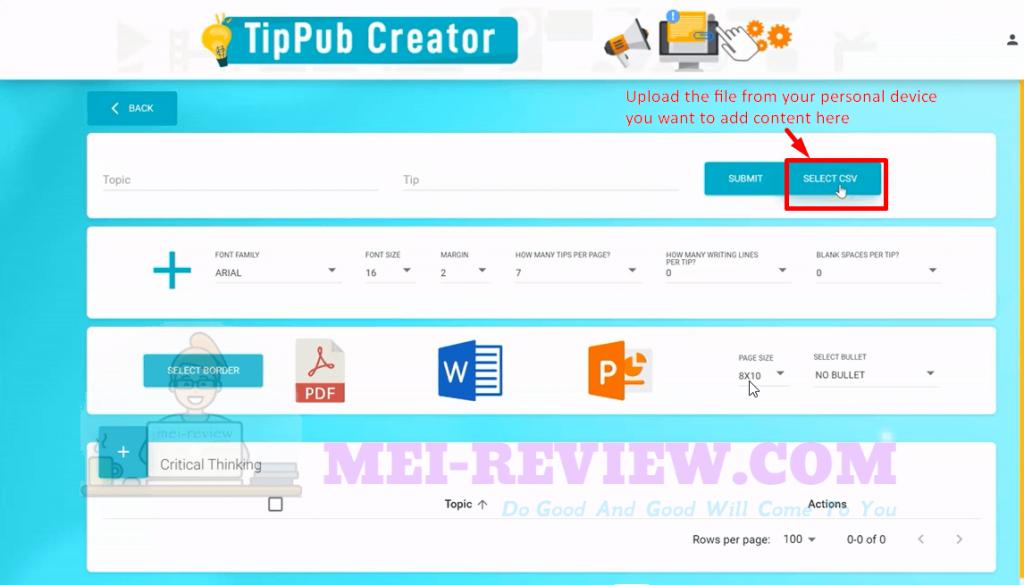 TipPub-Creator-Demo-6-select-CSV