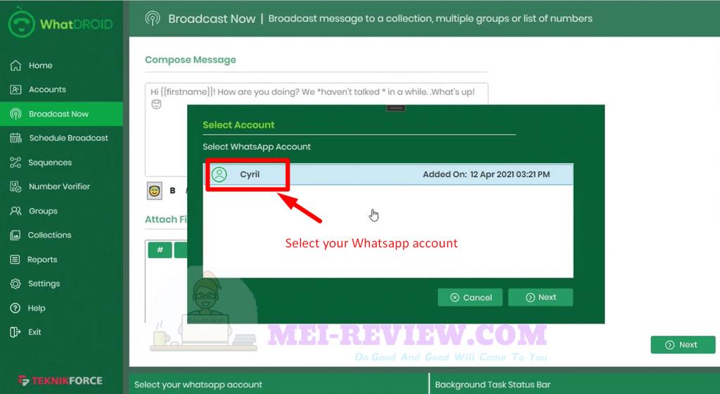 WhatDROID-demo-4-select-whatsapp-account