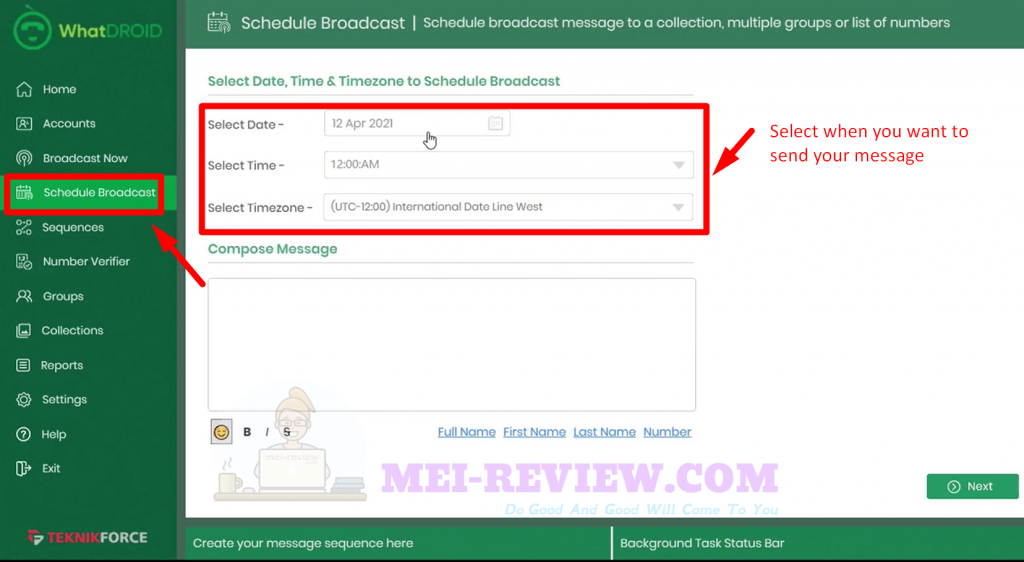 WhatDROID-demo-6-schedule-broadcast