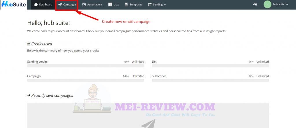 HubSuite-Demo-3-mailer-campaign