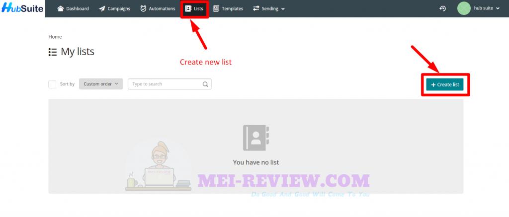 HubSuite-Demo-8-create-list