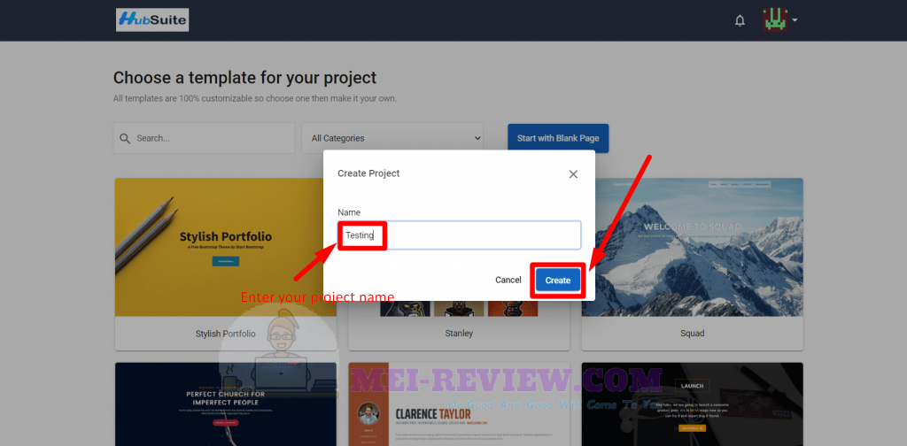 HubSuite-Demo-16-project-name