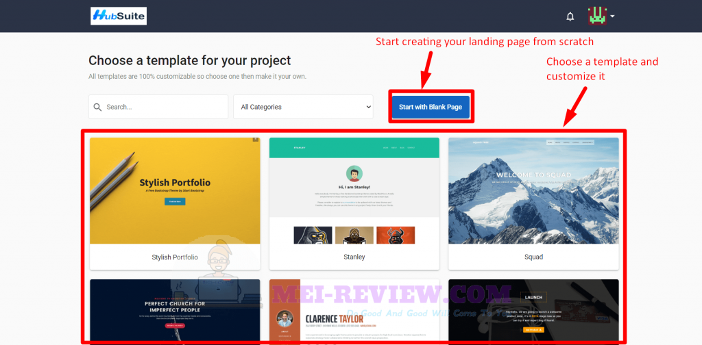 HubSuite-Demo-15-customize-template