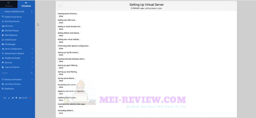 Infinite-Hosting-demo-2-virtual-server-is-ready
