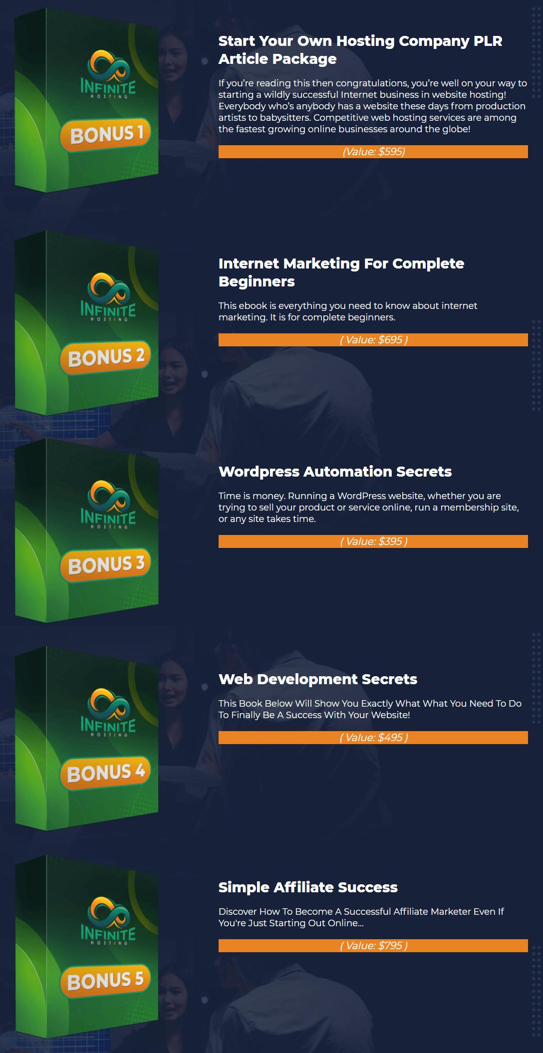 Infinite-Hosting-bonus