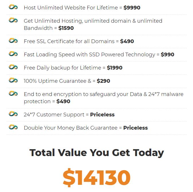 Infinite-Hosting-price