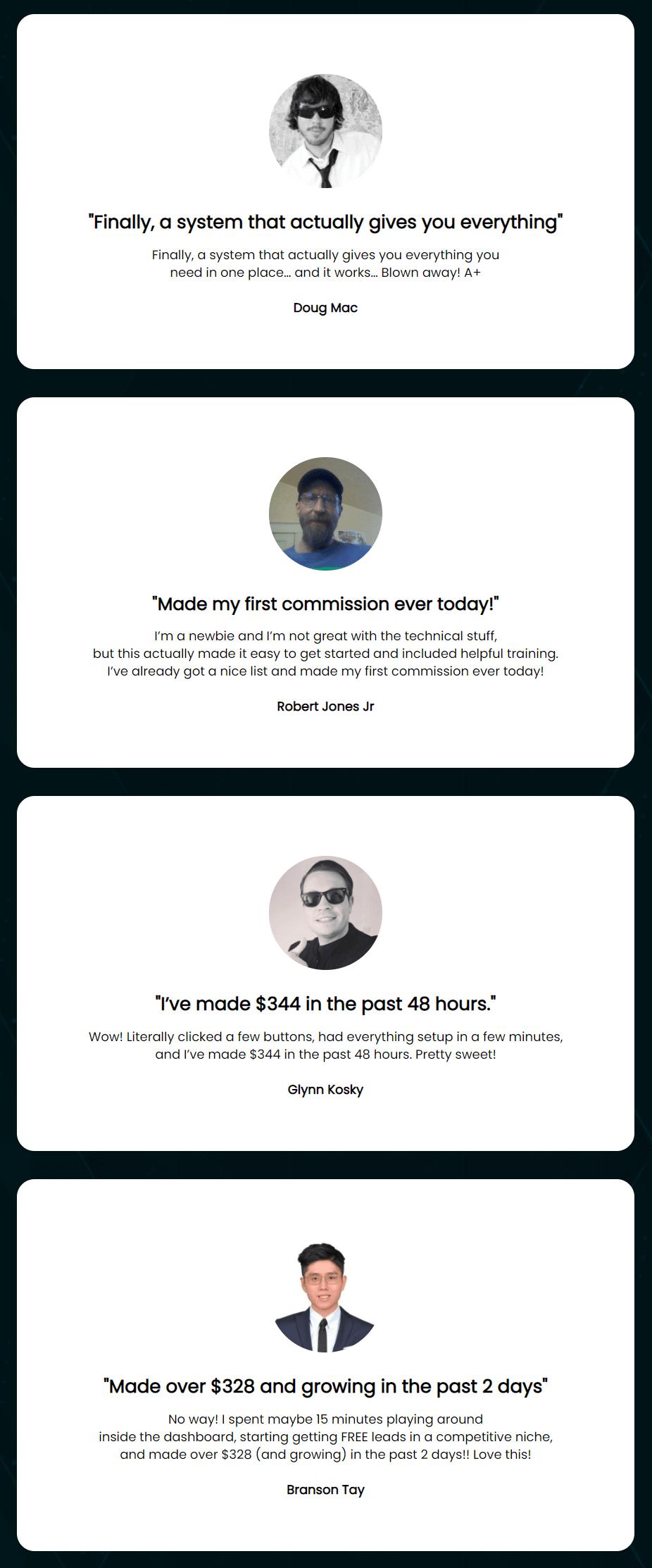 Fast-Commission-Generator-feedback