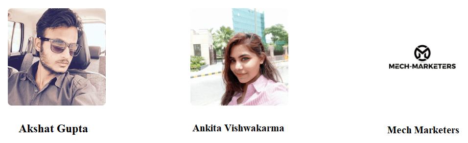 Akshat-Gupta-Ankita-Vishwakarma-Mech-Marketers