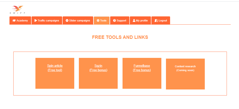 Swift-other-tools
