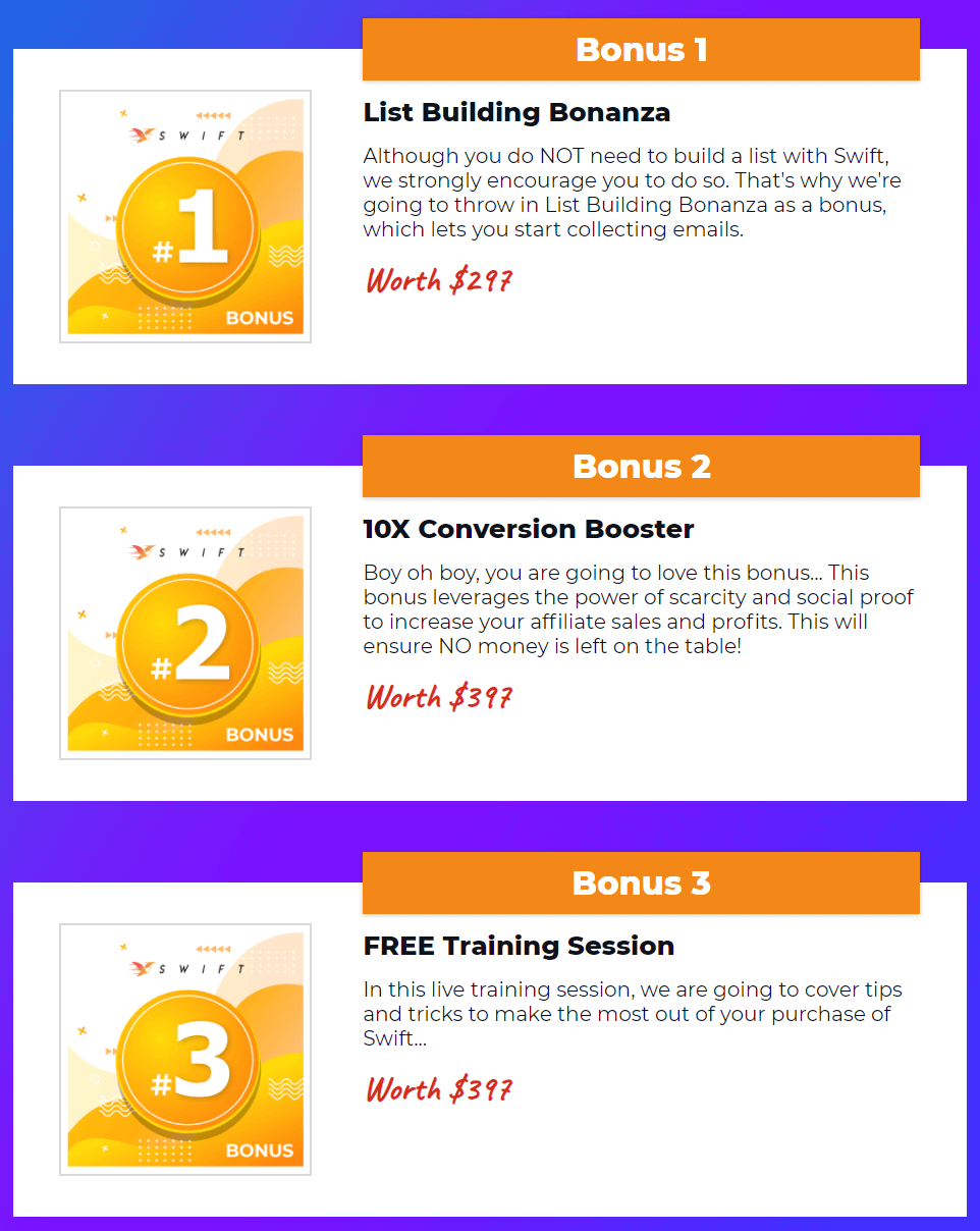Swift-bonus