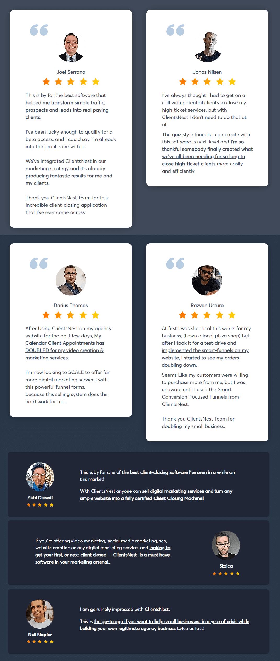 ClientsNest-feedback