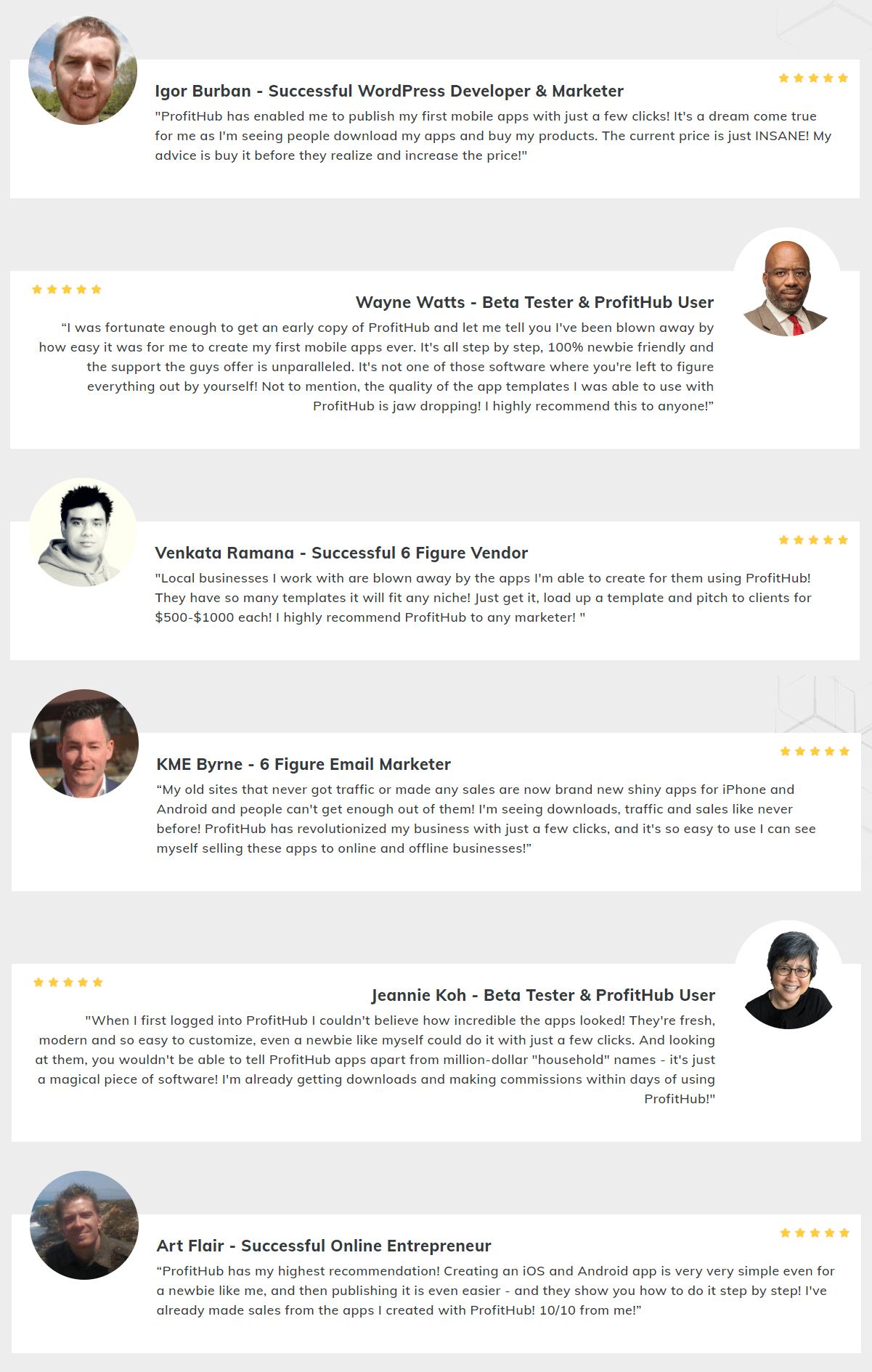 ProfitHub-feedback