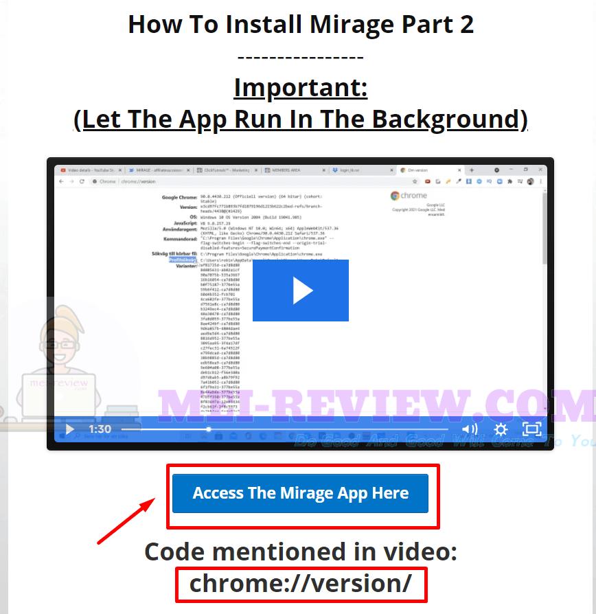 Mirage-dropbox