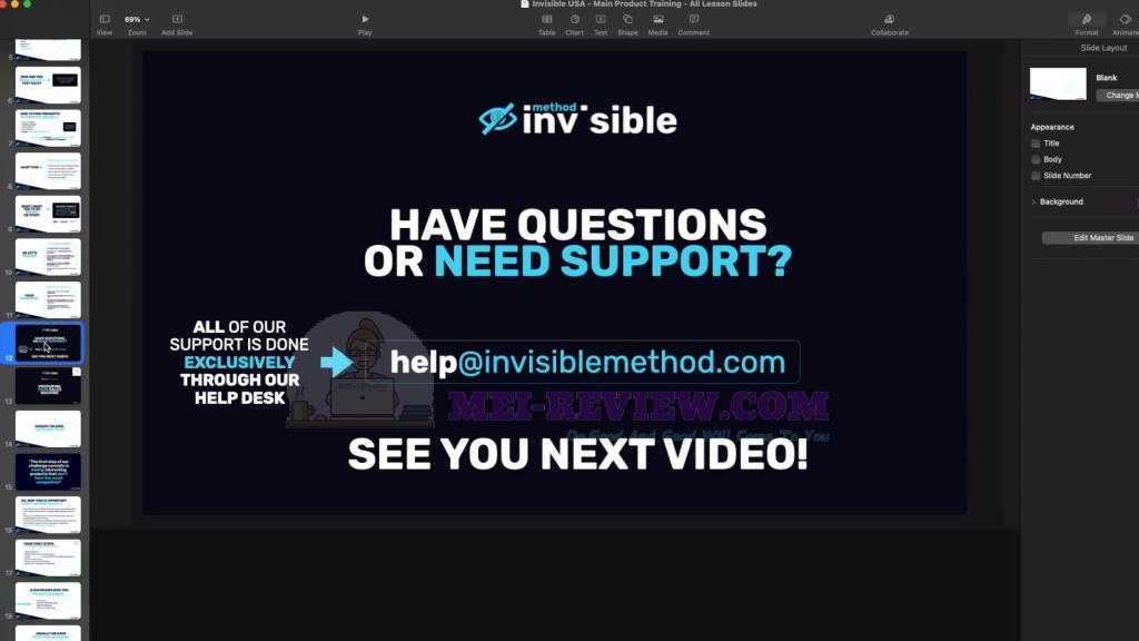 Invisible-Method-Training-Demo-5-support-desk