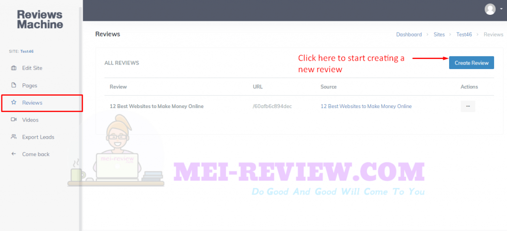 Invisible-Method-Demo-11-create-review-site