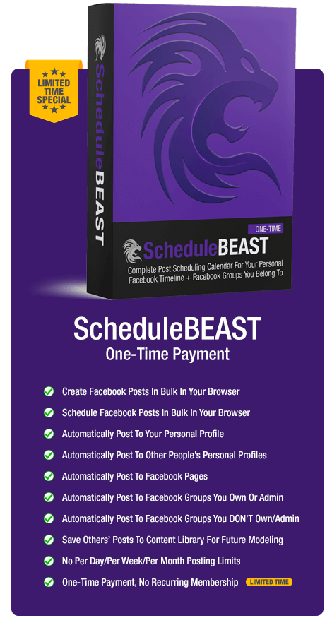 ScheduleBeast-One-time