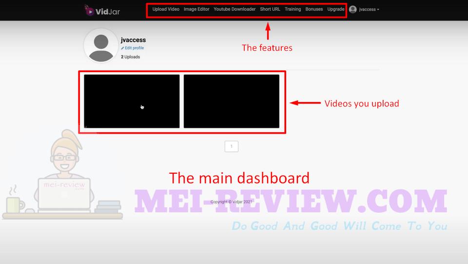 VidJar-Demo-2-dashboard