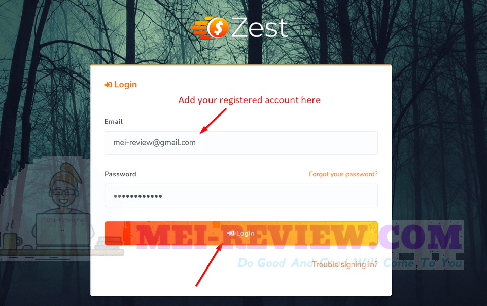Zest-demo-1-First-of all-log-into-the-system-by-your-registered-account