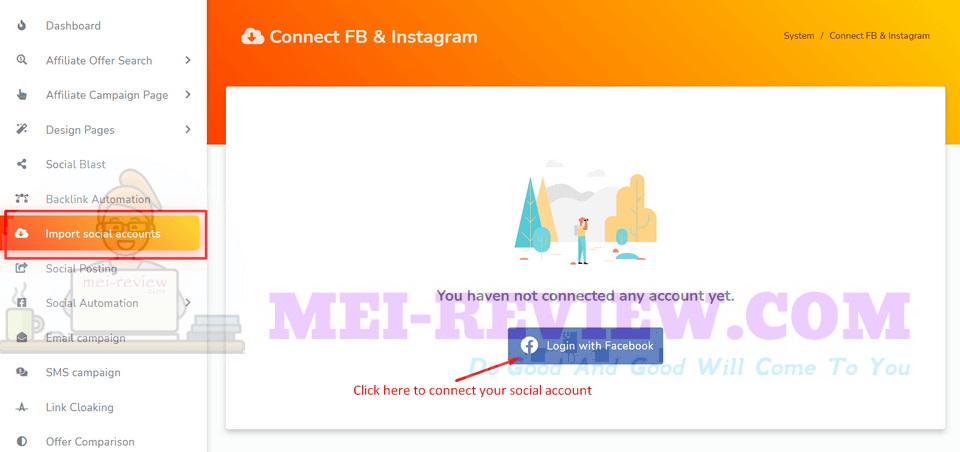 Zest-demo-14-Import-Social-Accounts-Zest-also-allows-you-to-work-on-Facebook-and-Instagram